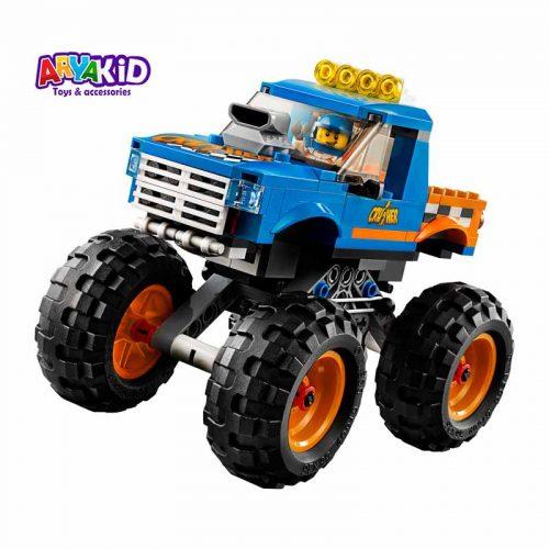 لگو کامیون هیولا ۱۹۲ قطعه سری LEGO CITY1