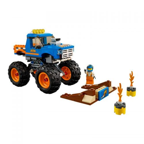 لگو کامیون هیولا ۱۹۲ قطعه سری LEGO CITY
