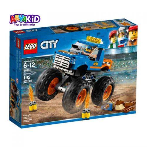 لگو کامیون هیولا ۱۹۲ قطعه سری LEGO CITY7