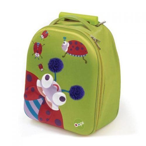 چمدان چرخدار کودک طرح کفشدوزک Oops