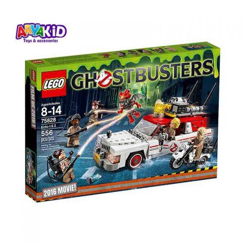 لگو اکتو ۵۵۶ قطعه سری LEGO GHOSTBUSTERS2