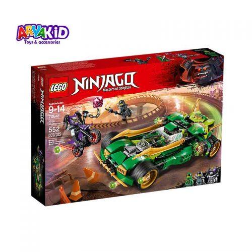 لگو ماشین سبز ۵۵۲ قطعه سری LEGO Ninjago