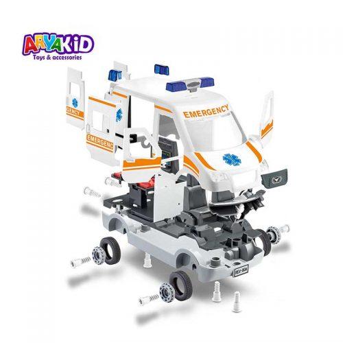 مدل سازی ماشین آمبولانس Revell1