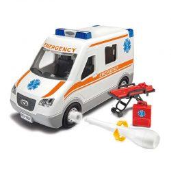 مدل سازی ماشین آمبولانس Revell