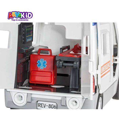 مدل سازی ماشین آمبولانس Revell6