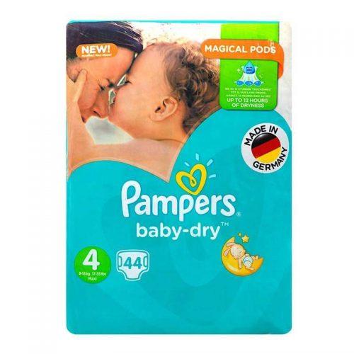 پوشک پمپرز مدل New Baby Dry سایز ۴ بسته ۴۴ عددی
