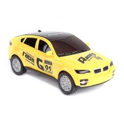 ماشین مسابقه با چراغ ۳D