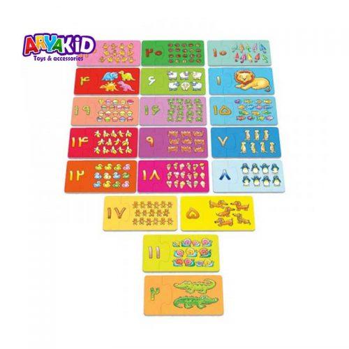 پازل جعبه ای اعداد2
