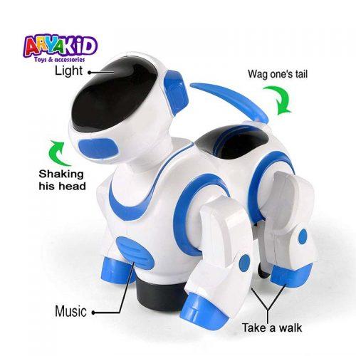 اسباب بازی ربات سگ موزیکال6