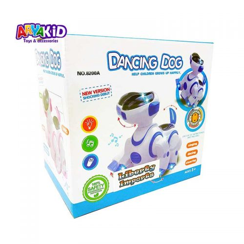 اسباب بازی ربات سگ موزیکال8
