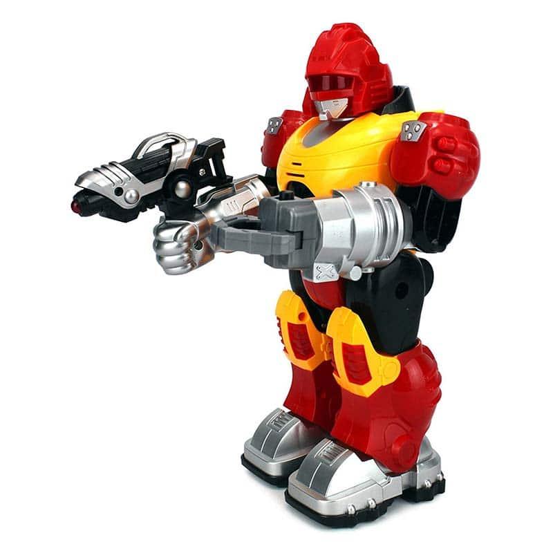 0688201243ecc ربات مبارز با سلاح - فروشگاه اینترنتی کالای کودک و نوجوان آریاکید
