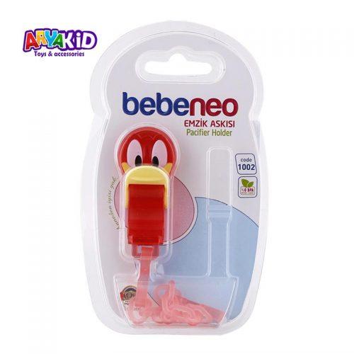 زنجیر پستانک طرح اردک bebeneo2