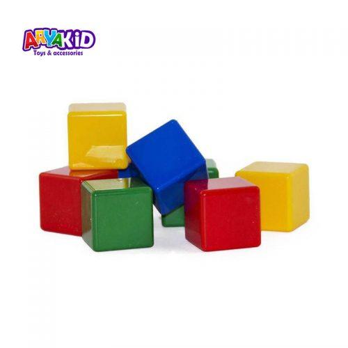 مکعب های رنگی ۱۶ عددی1