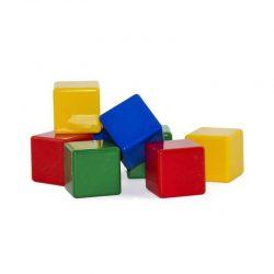 مکعب های رنگی ۸ عددی