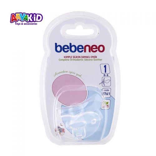 پستانک ارتودنسی تمام سیلیکون bebeneo1