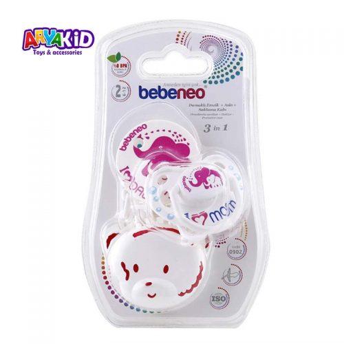 پستانک ارتودنسی زنجیردار bebeneo2