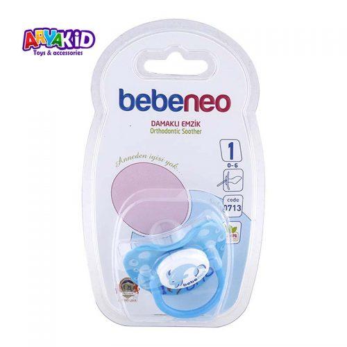 پستانک ارتودنسی ۰-۶ ماه مدل ۰۷۱۳ bebeneo