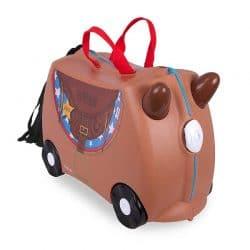 چمدان چرخدار کودک طرح اسب ترانکی