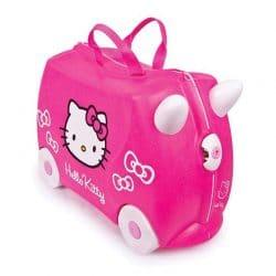 چمدان چرخدار کودک طرح هلو کیتی ترانکی
