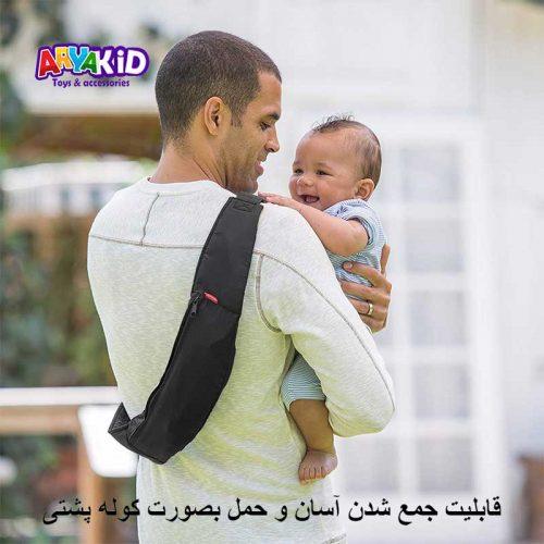 آغوشی نوزاد ۲ حالته خالدار اینفنتینو9