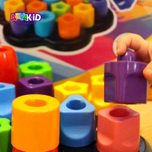 بازی فکری اشکال رنگارنگ2