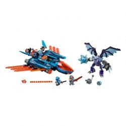 لگو جنگنده ۵۲۳ قطعه سری LEGO NEXO Knights