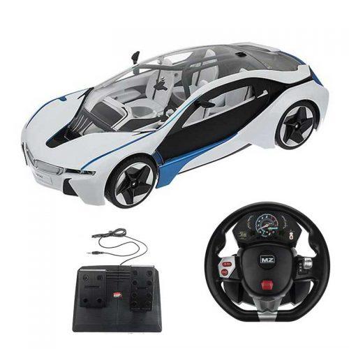 ماشین کنترلی BMW i8 ریموت فرمانی پدالی MZ