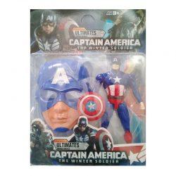 فیگور با ماسک کاپیتان آمریکا