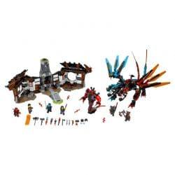 لگو حمله دراگون ۱۱۳۷ قطعه سری LEGO Ninjago