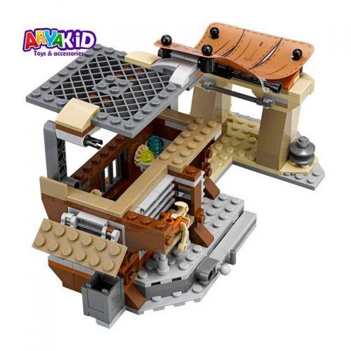 لگو شهر جاکو ۵۳۰ قطعه سری LEGO Star Wars3