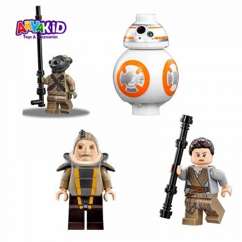 لگو شهر جاکو ۵۳۰ قطعه سری LEGO Star Wars7