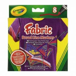 ماژیک لباس ۸ رنگ Crayola