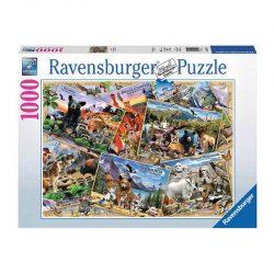 پازل پارک حیوانات ۱۰۰۰ قطعه Ravensburger