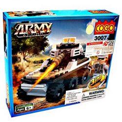 لگو تانک جنگی COGO مدل ۵-۳۰۰۷