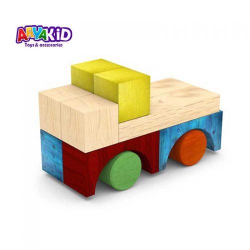 پازل چوبی ۴۰ قطعه سپتا2