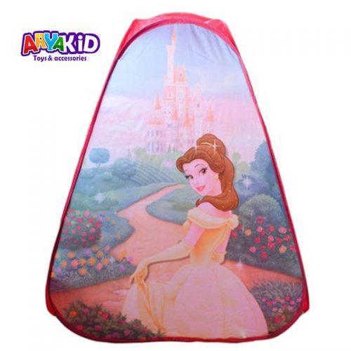 چادر بازی کودک طرح پرنسس Bell1