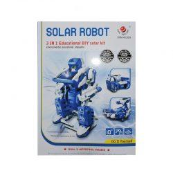 کیت آموزشی ساخت 3 ربات خورشیدی